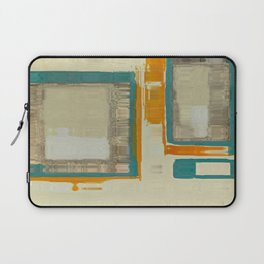Mid Century Modern Blurred Abstract Art Best Most Popular by Corbin Henry Laptop Sleeve