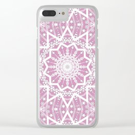 Winter evening . Clear iPhone Case