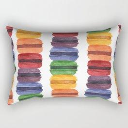 Rainbow Macaron Rectangular Pillow