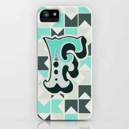 Letter F iPhone Case
