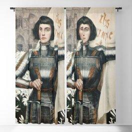 Saint Joan Of Arc Blackout Curtain
