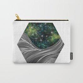 Sea through galaxy Carry-All Pouch