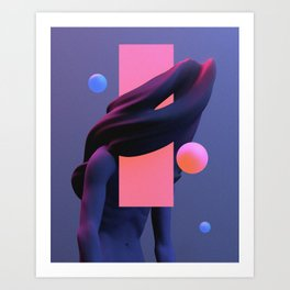 weary I Art Print