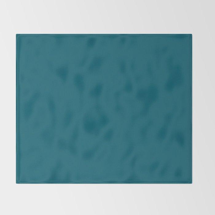 Best Seller Sherwin Williams Trending Colors of 2019 Oceanside (Dark Aqua Blue) SW 6496 Solid Color Decke