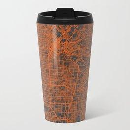 Los Angeles Map Travel Mug