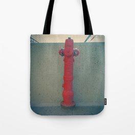 Agitar en caso de emergencia Tote Bag