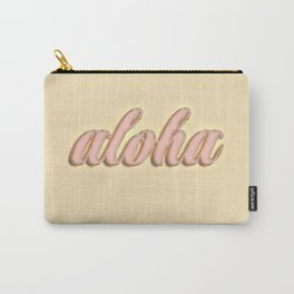 Aloha typography Carry-All Pouch