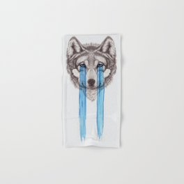 Don't Cry Wolf Hand & Bath Towel