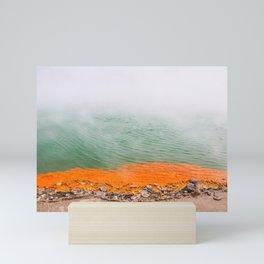 Orange Edged Mini Art Print