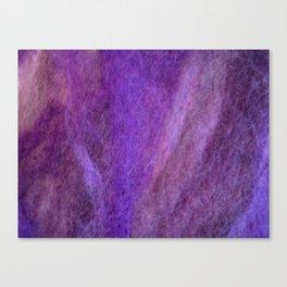 Purple wool Canvas Print