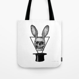 Rabbit Tricks Tote Bag