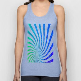 stripes wave pattern 1 stdv Unisex Tank Top