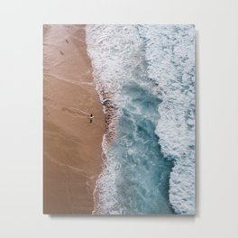 Brilliant Beach Metal Print