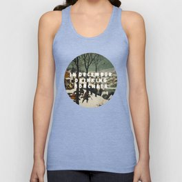 Horchata in the Snow Unisex Tank Top