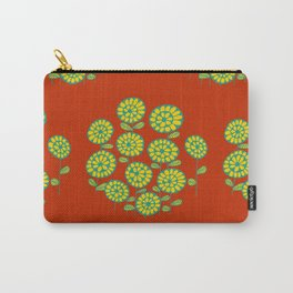 Spring flower in red Carry-All Pouch