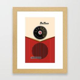 Nakashuma MK 1 in Strawberry and Cream Framed Art Print