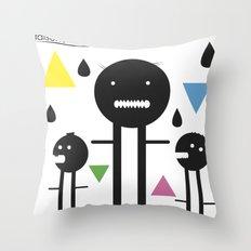 falsche sachen Throw Pillow