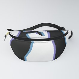 The Mullet Blue Fanny Pack