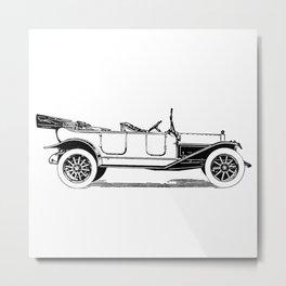 Old car 5 Metal Print