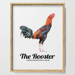 The Rooster Serving Tray