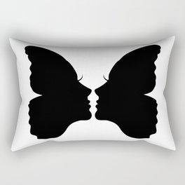 Butterfly Kiss Rectangular Pillow