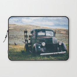 Forgotten Flatbed Truck Laptop Sleeve