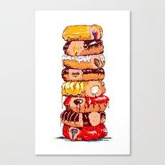 8-bitten Canvas Print