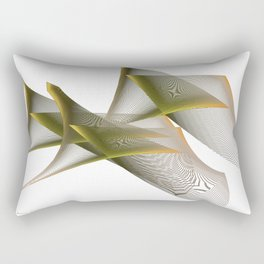 Mathematical Portrait of a Dinosaur Rectangular Pillow