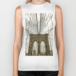 Brooklyn Bridge NYC Biker Tank