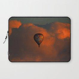 Balloon flight at sunset Laptop Sleeve