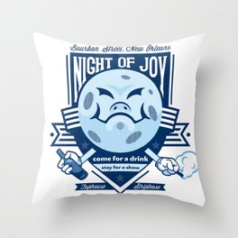 Night of Joy Throw Pillow