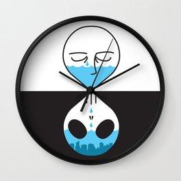Dead Cover Wall Clock