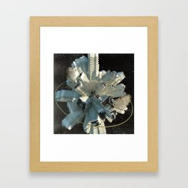 Cloud City Framed Art Print