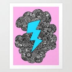 Super Storm Art Print