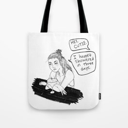 Hey Cutie Tote Bag