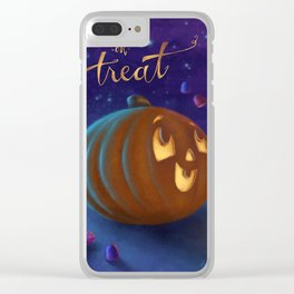 Trick or Treat! Clear iPhone Case