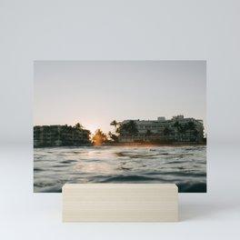 Ocean Fire Mini Art Print
