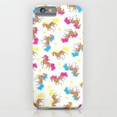 Retro horse pattern iPhone 6s Slim Case