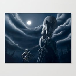 Sif, The great wolf Canvas Print