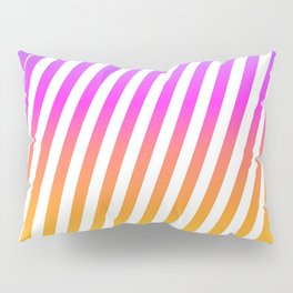abstract lines mockup oblique Pillow Sham
