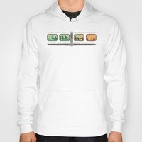 subway Hoodies featuring Ground Zero - Zombie Subway by Picomodi