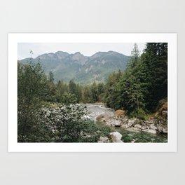 Coquihalla River Art Print