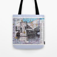 ohio Tote Bags featuring Ohio by Ursula Rodgers