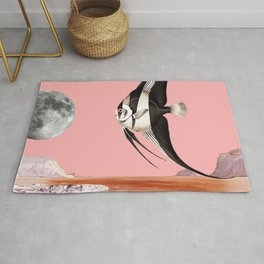 Plenty of fish in the sea Pink Rug