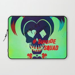 """Harley Quinn """"Suicide Squad"""" Laptop Sleeve"""