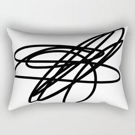 scribble Rectangular Pillow