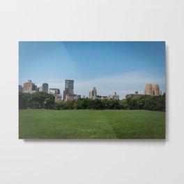 Sheep Meadow, Central Park Metal Print