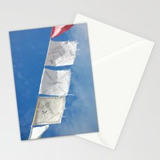 Flags in the Breeze Stationery Cards