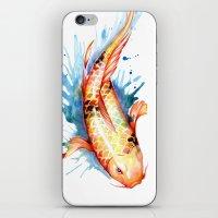 koi iPhone & iPod Skins featuring Koi by Sam Nagel
