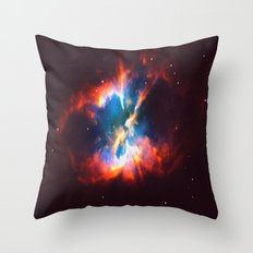 Space Confusion Throw Pillow